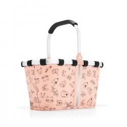 Panier Carrybag Kids Cats&Dogs rose 5L