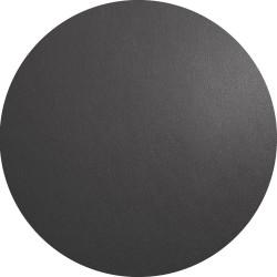 Set de Table Rond Basalte Aspect cuir ASA