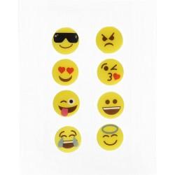 "Marque-verres ""Emoji"" x8 VinBouquet"