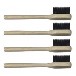 Recharges x4 brosse à dents Adulte Souple