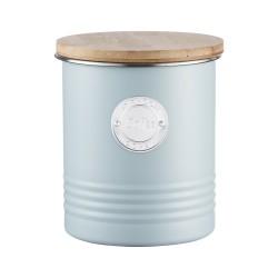 Boîte à café métal TYPHOON Bleu