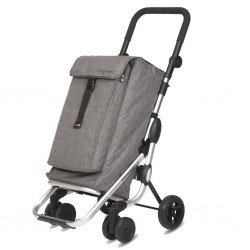 Chariot 4 roues GO UP Textured Gris